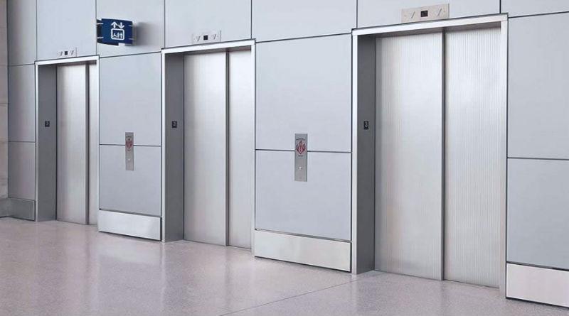lift door advertising
