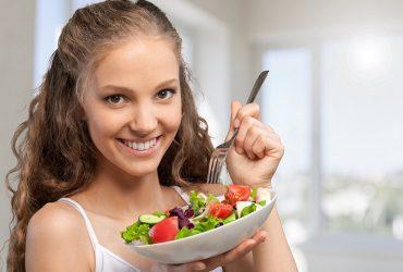 Healthy Diet Plan - Eating Girl