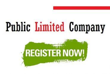 public limited company registration