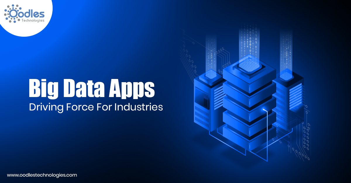 Big Data Apps Emerging As The New Driving Force For Industries