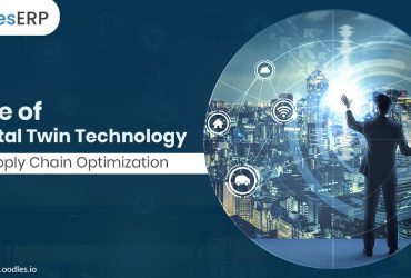 Digital twin supply chain