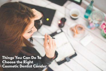 cosmetic dentist Conder