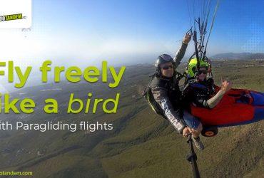 paragliding in Adeje