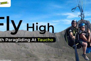 Paragliding At Taucho