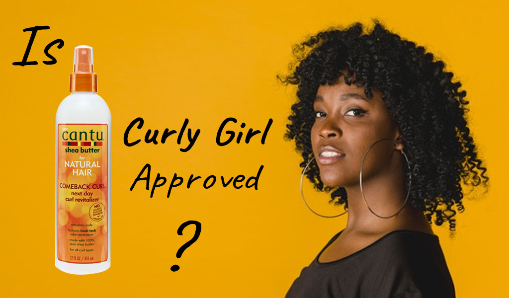 Cantu Comeback Curl Curly Girl Approved Product