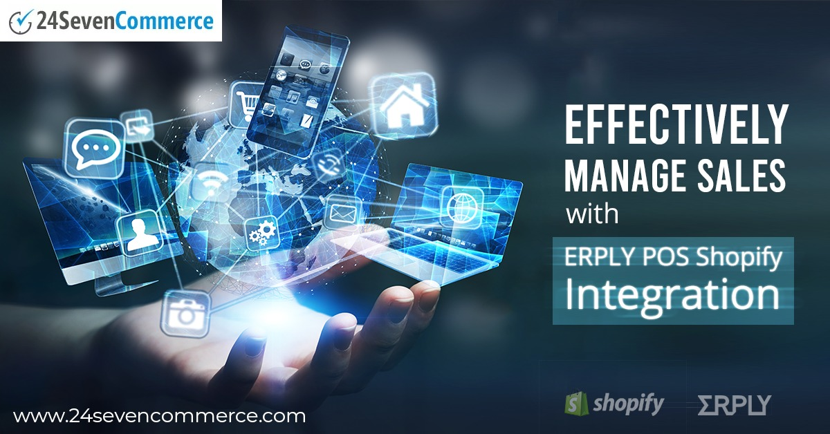 Shopify Integration with ERPLY POS Enable Effective Management of Sales