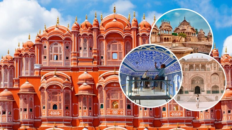 Marvelous Palaces and Forts to Sightseeing in Jaipur