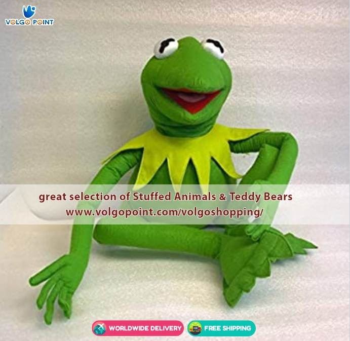 THE BEST KERMIT THE FROG TOY PUPPET