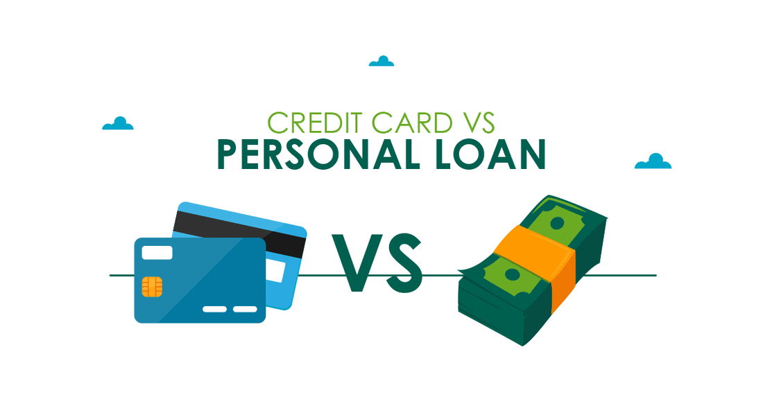 Personal Loan Vs Credit Card – Which one to Choose Online?