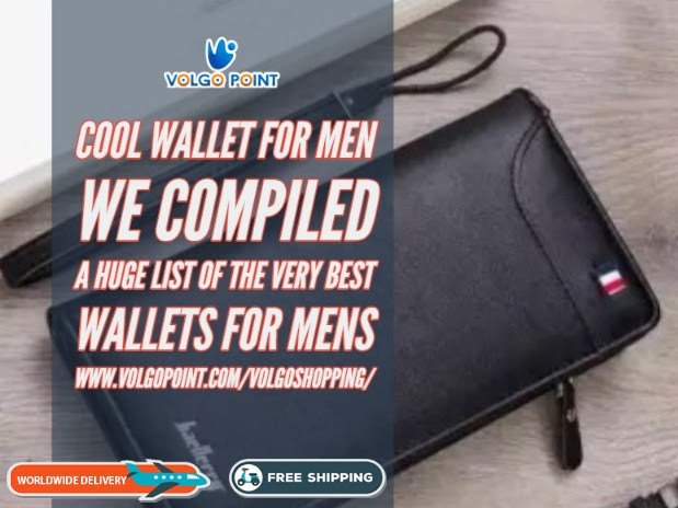 How to buy men's Cool wallet! The Guide
