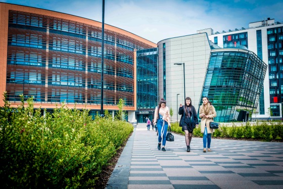 DMU Campus pictures 12th May 2017