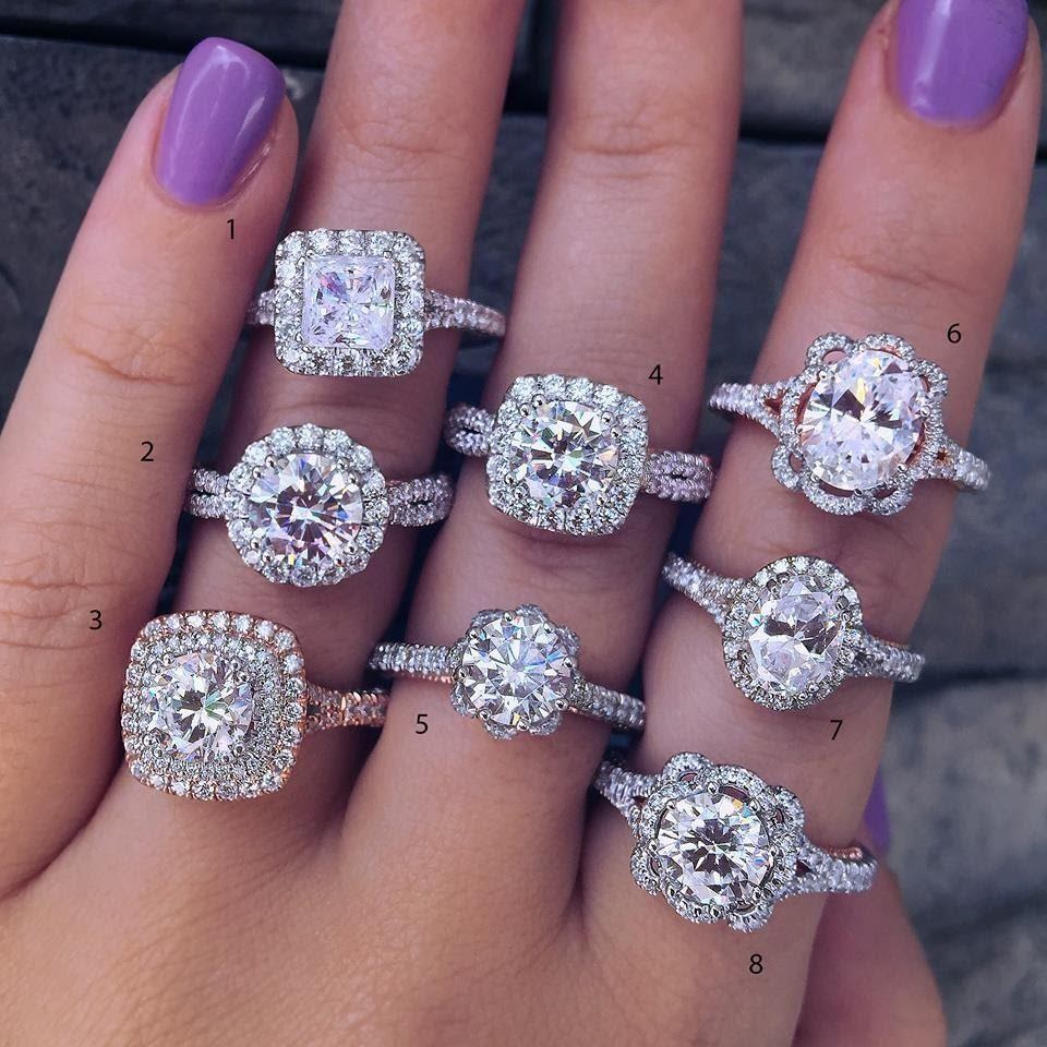 10 Best and unique designs for engagement rings.