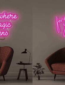 custom neon lights