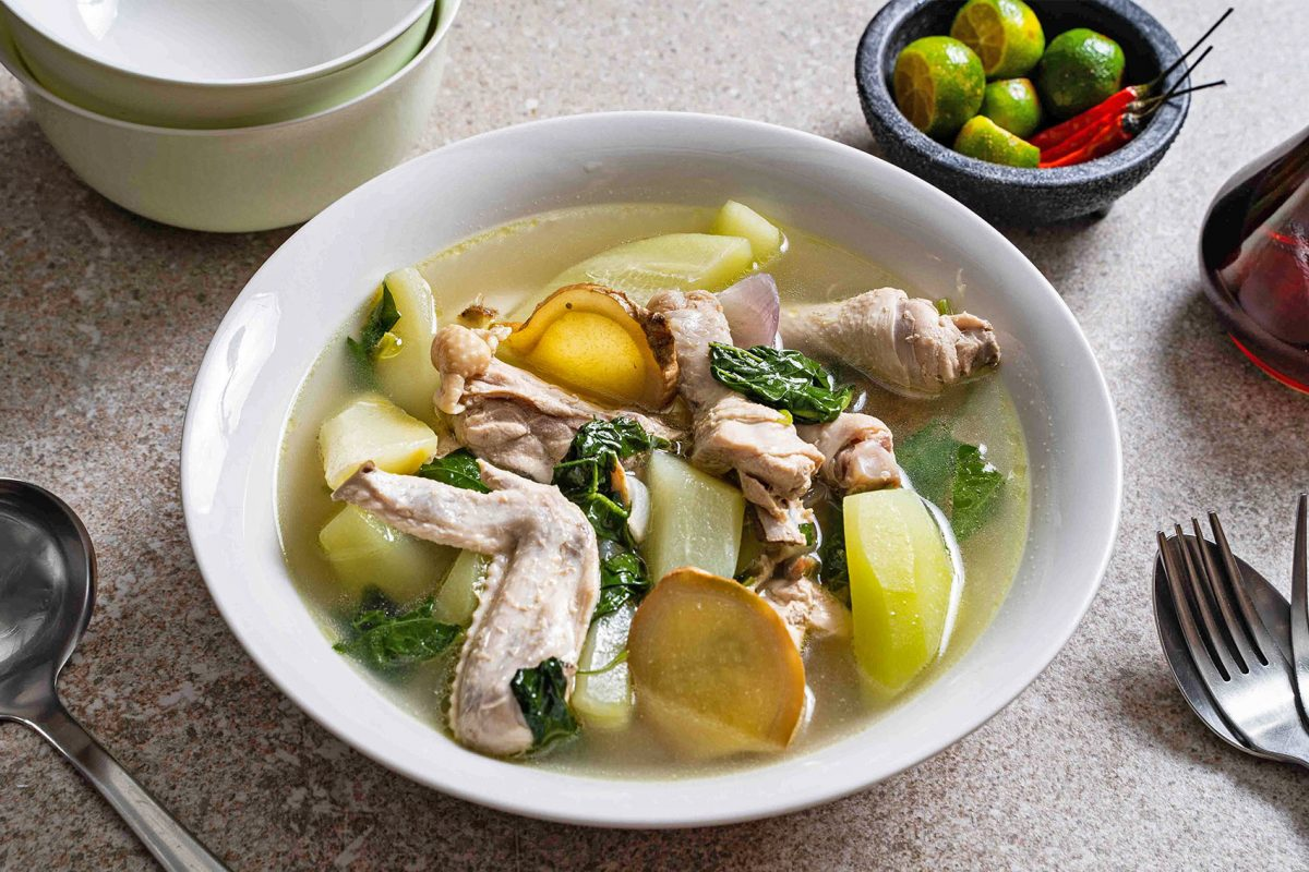How to Cook Pinoy Food: Chicken Tinola